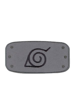 Naruto: Konoha (Leaf Village) Logo Anime Patch