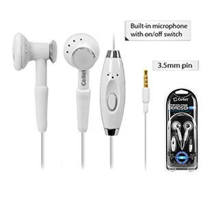 Nokia Lumia 521 Stereo Inside The Ear Headphones Built In Hands Free Microphone White With Crystal Clear Sound