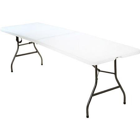 For Sale! Folding Picnic Table for Events Birthday Parties or Additional Dining Space Indoor Outdoor...