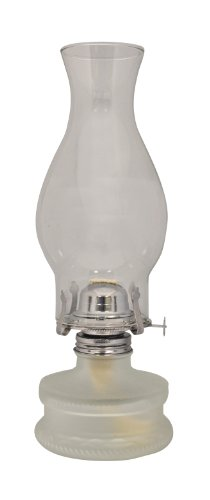 Lamplight Farms 22300 Classic Oil Lamp Frosted Base