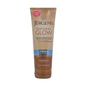 Jergens Natural Glow + Firming Daily Moisturizer Medium to Tan Skin Tones width=