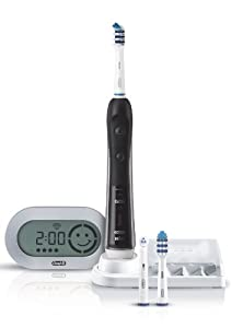 Braun Oral-B TriZone 5000 Six Mode Power Toothbrush with Wireless Smart Guide Black Limited Edition