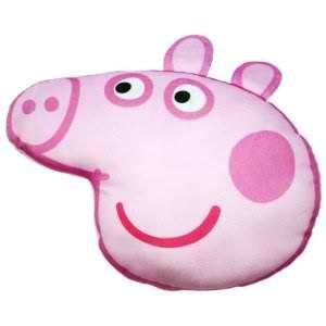 Amazon.com: Peppa Pig Head Printed Plush Cushion