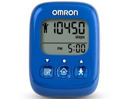 Omron HJ325 Alvita Ultimate Pedometer, Blue Omron B00J3ZLKC0