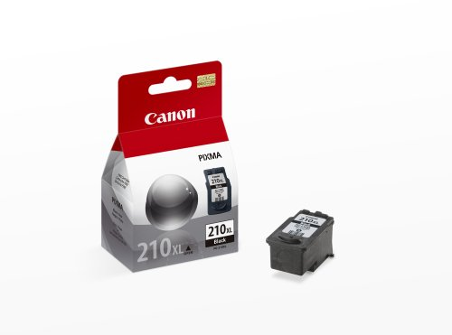 Canon PG-210XL Cartridge, Black-Retail Packaging