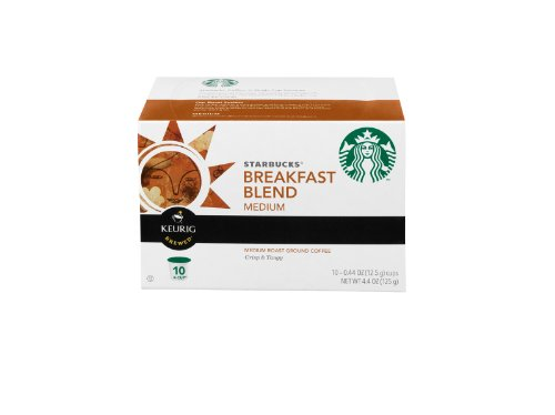 Starbucks Breakfast Blend K Cups 10 Pack