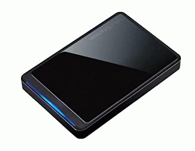 Buffalo Ministation 500GB USB 2.0 Portable Hard Disk Drive by BUFFALO