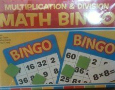 Multiplication & Division Math Bingo (Clever Factory, Nashville, TN) - 1