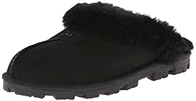 UGG Australia Women's coquette slippers, Black, 5 B(M) US