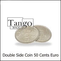 Double Sided Coin (50 cent Euro) by Tango