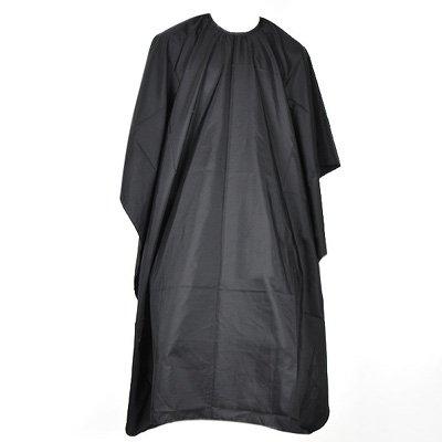Mantella nera da parrucchiera TRIXES per adulti per colpi di sole, tinta, taglio dei capelli in salone, copre tutto il corpo
