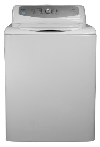 Haier Gwt460Bw Energy Star Rated Super Plus Capacity High-Efficiency Washer, 3.1 Cubic Feet, White