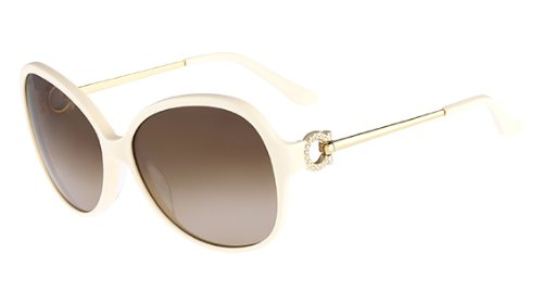 SALVATORE FERRAGAMO Sunglasses SF670SR 103 Ivory