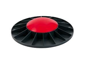 Togu Balance Board Level 1, 410402, Schwarz mit rot, 40x8 cm