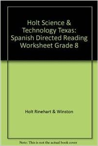 holt science technology texas spanish directed reading worksheet grade 8 rinehart and. Black Bedroom Furniture Sets. Home Design Ideas