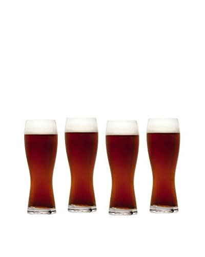 Mikasa Set of 4 Brewmaster's 28-Oz. Wheat Pilsner Glasses