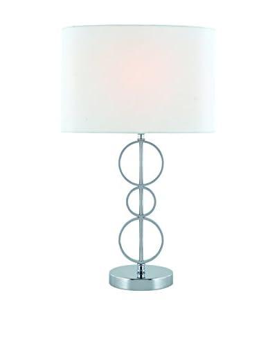 Lite Source Odele Table Lamp, Chrome