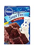 Pillsbury Moist Supreme Sugar Free Devil's Food Cake Mix, 16 oz. (Pack of 6)