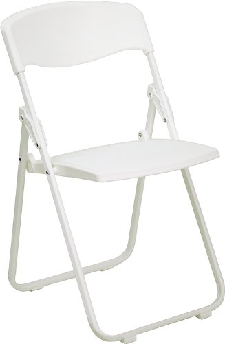 Flash Furniture RUT-I-WHITE-GG Hercules Series 880-Pound Hea