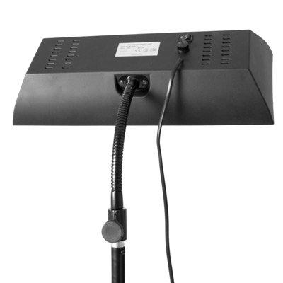 Profi Tageslicht-Flächenleuchte NG-48HM (48W) mit 2 Leuchtstoffröhren – vielseitig einsetzbar – flexibler Schwenkarm / Schwanenhals