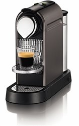Nespresso C111-US-TI-NE1 Citiz Espresso Maker, Titanium