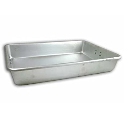 Browne Foodservice A14203 14 by 20-Inch Aluminum Roast Pan, Large