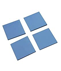 4PCS 1.5MM Notebook Graphics Silicone Thermal Pad GPU Heat-sink 15mm 15mm 1.5mm By Buyyart