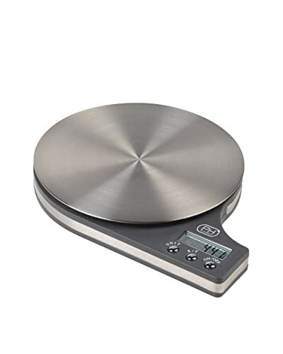 Domo Balanza De Cocina Alta Precision DO9162W Acero