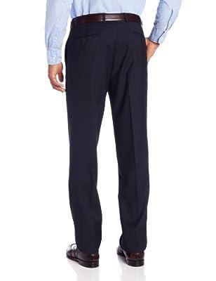 Calvin Klein Men's Navy-Stripe Slim-Fit Suit