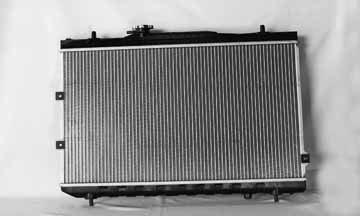tyc-2784-kia-spectra-1-row-plastic-aluminum-replacement-radiator