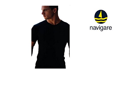 3 Maglie Navigare Caldo Cotone Manica Corta art.112 colori assortiti (4/M, 3 Assortite)