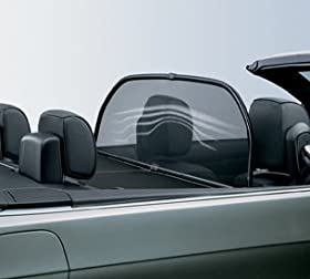 BMW 3 Series E93 Genuine Factory OEM Convertible Windscreen Deflector 2007 - 2013. PLEASE NOTE: FedEx Ground delivery only!!