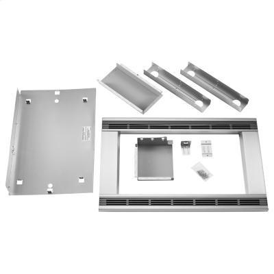 Whirlpool MK1170XPS 30 Countertop Microwave Trim Kit - Stainless Steel