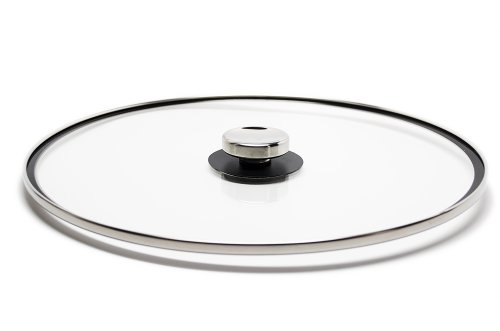 Universal Glass Quicklids Pot Lid With Cool-Touch Knob, Large (Inside The Metal Rim 12.5 Inches )