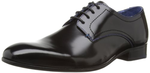 Ted Baker Billay 2, Stringate uomo, Black Hi Shine, 40 (7 UK)