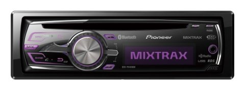 Pioneer Deh-P8400Bh Mobile Cd Receiver With Built-In Bluetooth, Hd Radio And Mixtrax