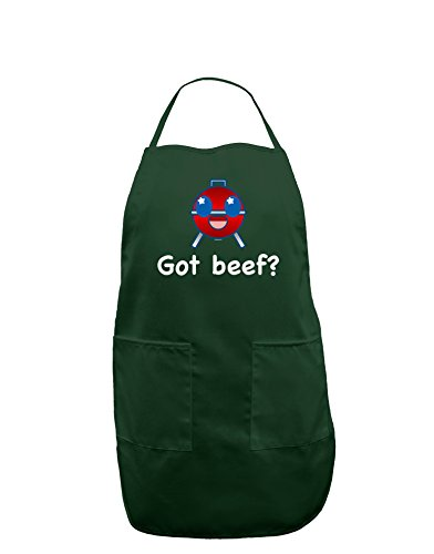 Got Beef Dark Adult Apron - Hunter - One-Size