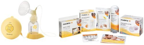 Medela Swing Single Electric Breast Pump Solution Set With Accessories