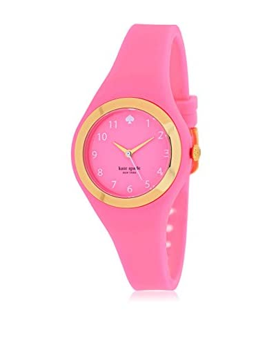 kate spade new york Women's 1YRU0608 Rumsey Pink/Pink Stainless Steel and Silicone Watch