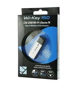 Wi-key 150 Clé USB wifi de classe N Cette clé permet à un ordinateur n'ayant pas la technologie wifi de se connecter à un réseau sans fil, wifi.