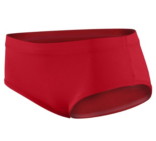 Augusta Sportswear 9016 Girl'S Brief Red Small front-941309
