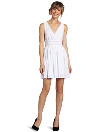 BB Dakota Women's Sandrine Dress, Optic White, X-Small