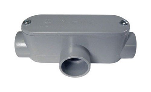 Cantex Industries 1' T Pvc Access Fitting 5133565U Pvc Conduit Fittings Sched...