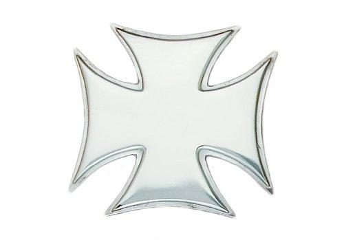 Iron Cross Silver Tone Belt Buckle