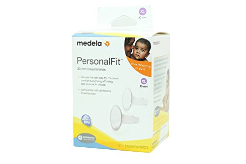 Medela PersonalFit Breastshields (2), Size: X-Large (30mm) in Retail Packaging (Factory Sealed) #87075 (Medela Personal Double Pump compare prices)