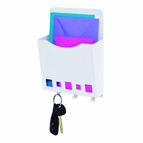 Steelmaster mail and key holder 8 3 4 x 2 x 6 1 4 inches Q home decor marina mall
