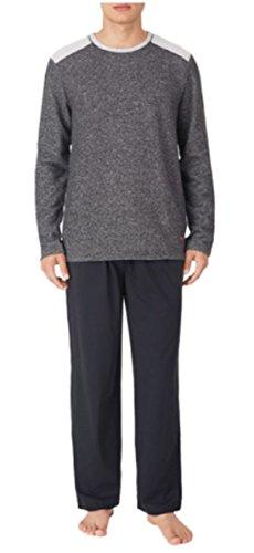 tommy-bahama-mens-pajama-set-crew-neck-top-and-drawstring-pant-black-x-large