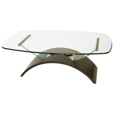Chintaly Surfboard Coffee Table - 7228-CT-CHERRY