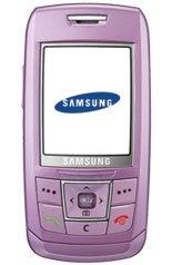 SAMSUNG SGH-E250 SIM FREE MOBILE PHONE LTD EDITION LILAC VIOLET