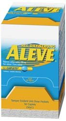 Medique 48850 Individual 50/Pk Aleve Pain Relief Tablets